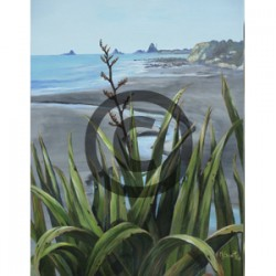Oakura Beach - Margaret Scott