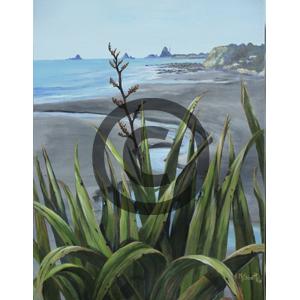 Oakura Beach - Margaret Scott